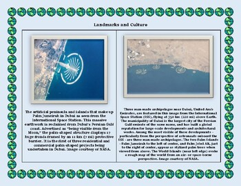 United Arab Emirates Geography Maps, Flag, Data, Assessment- Data Analysis