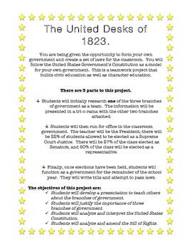 United Desks of 1823