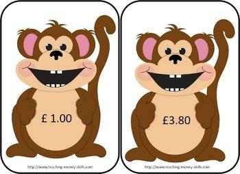 United Kingdom Feed The Monkey Money Game
