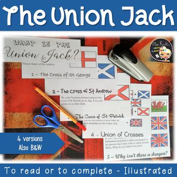 United Kingdom Flag Flapbook