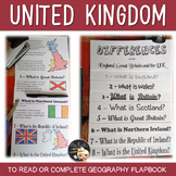 United Kingdom Informational Text Flapbook