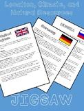 United Kingdom, Germany, & Russia: Location, Climate, Natu