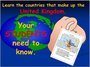 United Kingdom: Map Activities