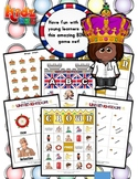 United Kingdom Matching / Bingo Game Set