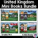 United Kingdom And Ireland Mini Books Bundle - England, Scotland, & Wales