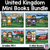 United Kingdom And Ireland Mini Books Bundle - England, Sc
