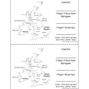 United Kingdom - Research Mini Book