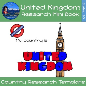 United Kingdom - Research Mini Book