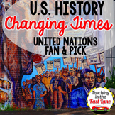 United Nations Fan & Pick {U.S. History}