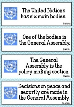 United Nations Informational Text Year 3/4