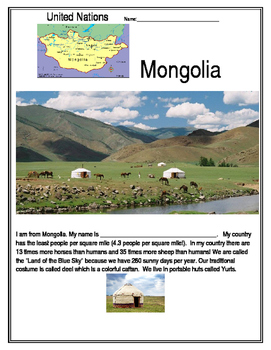 United Nations - Mongolia