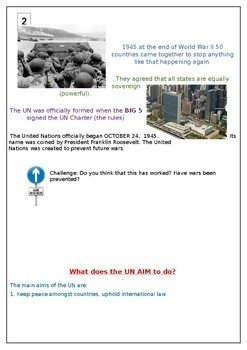 United Nations Poster fact Hunt