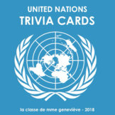 United Nations - TRIVIA CARDS