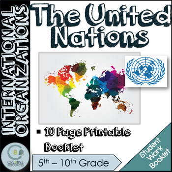 United Nations UN Activity Pack