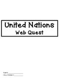 United Nations Web Quest