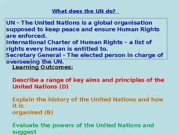 United Nations and UNICEF