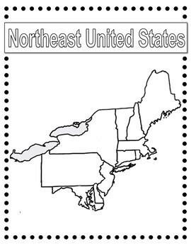 United State Geography - Blank Map Package