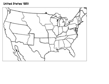 United States 1850: Creating a Historical Map
