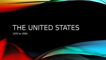 United States 1970-1990