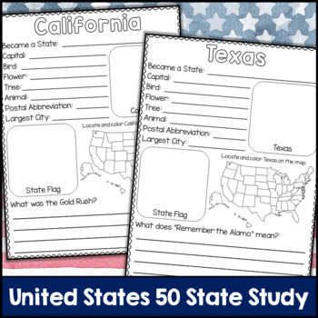 United States 50 State Study
