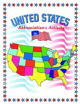 United States Abbreviations Activity