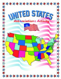 United States Abbreviations Activity