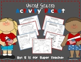 United States Activity Packet - NO PREP