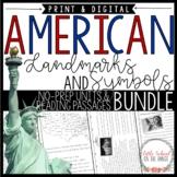 United States BUNDLE - Landmarks and Symbols