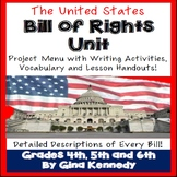 Bill of Rights Projects, Amendment Descriptions, Vocabulary