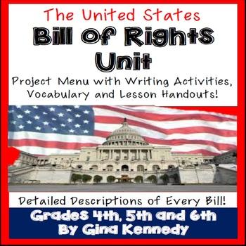 Bill of Rights Enrichment Projects, Amendment Descriptions