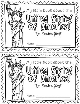 America Booklet (A Country Study!)