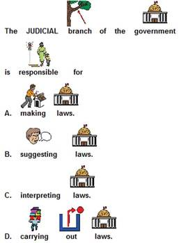 United States Branches of Government quiz