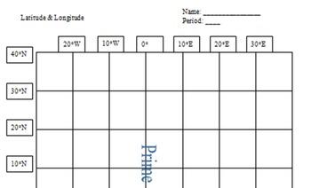 United States Bundle - 50 States Flashcards & USA Latitude and Longitude Puzzle