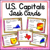 United States Capital Cities Task Cards