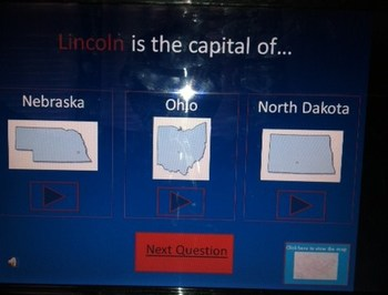 United States Capitals Review Game