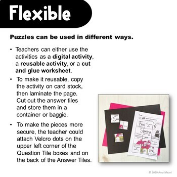 United States Capitals Secret Picture Tiles Review Activity Distance Learning