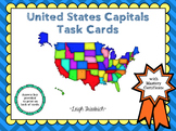 United States Capitals Task Cards
