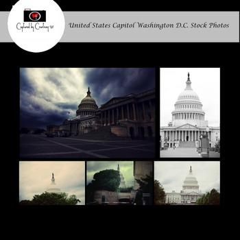 United States Capitol Washington D.C. Stock Photos