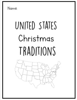 United States Christmas Traditions Book
