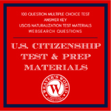 United States Citizenship Test and Prep Materials