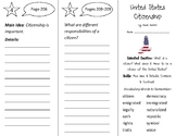 United States Citizenship Trifold - Open Court 2nd Grade Unit 5 Lesson 2