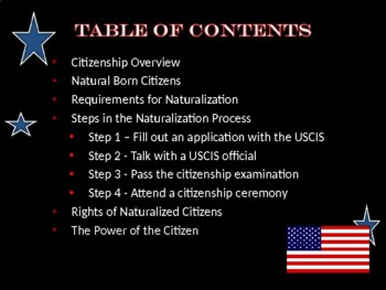 United States Citizenship - What Does it Mean to be a Good Citizen?