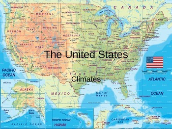 United States Climate PowerPoint