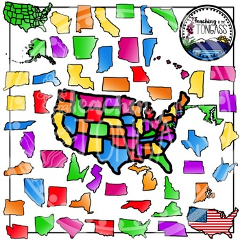 United States Clipart Bundle