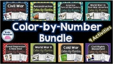 United States History Color-by-Number Bundle