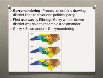 United States Congress PowerPoint Lesson