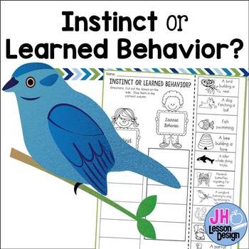 Instinct or Learned Behavior? Cut and Paste Sorting Activity