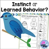 Instincts and Learned Behaviors: Cut and Paste Sorting Activity