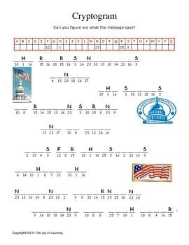 United States Constitution Activity Fun
