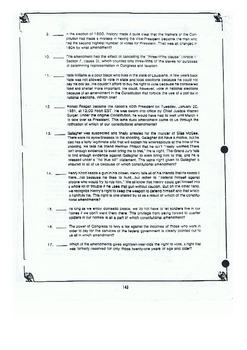 United States Constitution Amendments Worksheet